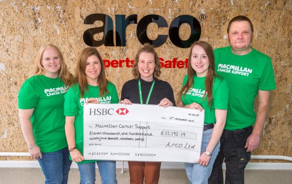 Arco raised over £175,000 for Macmillan Cancer Support